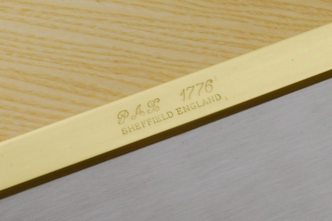Pax 1776 10 inch 20tpi Dovetail Saw (rip) spine