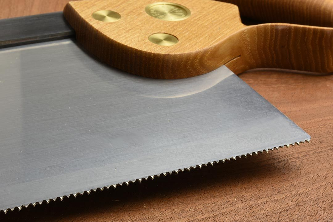 Bad Axe Large Tenon Saw 12ppi Tooth Close Up