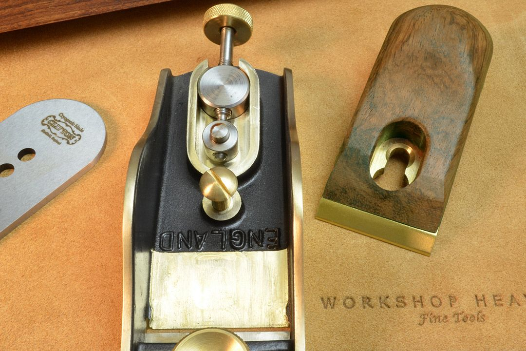 Clifton Low Angle Block Plane (Adjustable Mouth) apart