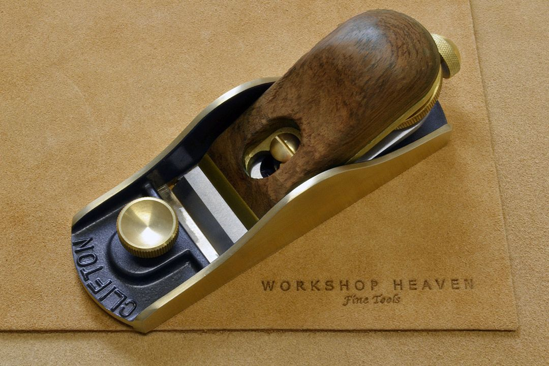 Clifton Low Angle Block Plane (Adjustable Mouth) top