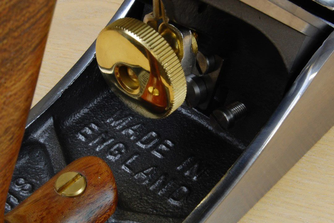 Clifton No 4 Smoothing Plane close up