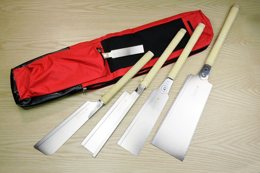 Gyokucho Japanese Saws Deluxe Set