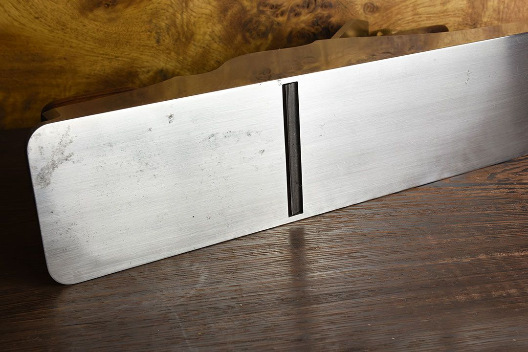 Holtey A1 Dovetailed Steel Panel Plane sole mouth
