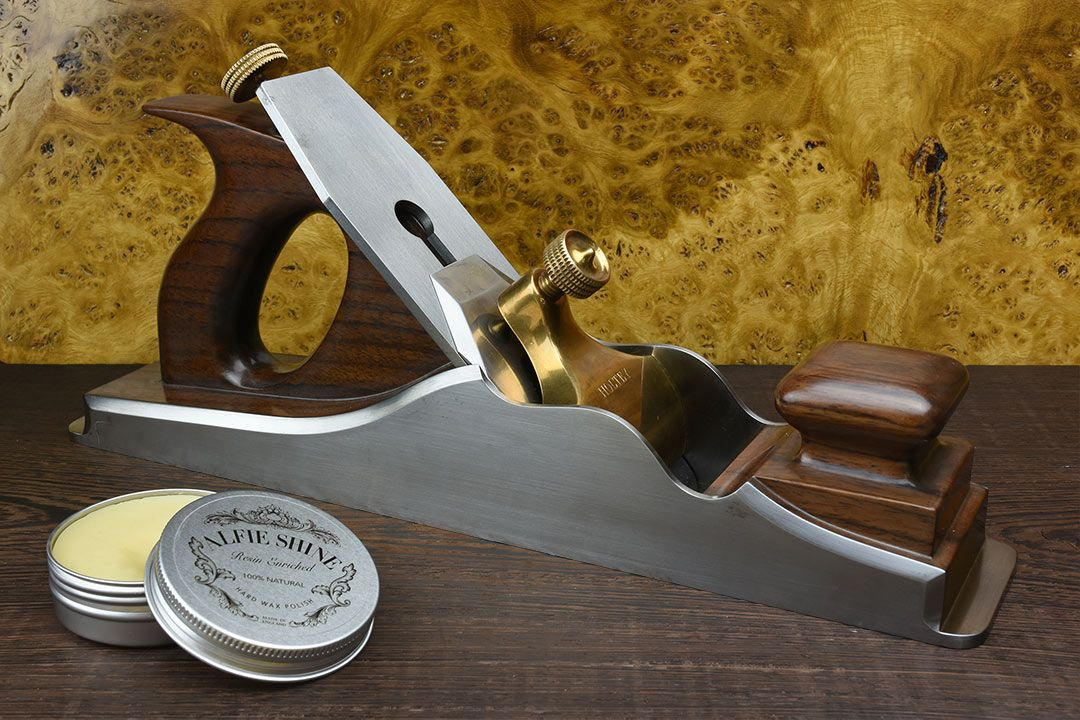 Holtey A1 Dovetailed Steel Panel Plane with alfie shine