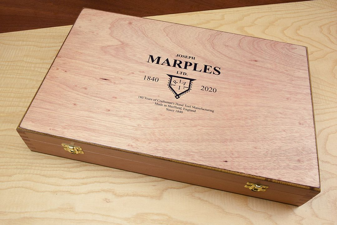Marples 180th year Anniversary Limited Edition Joiners Set box