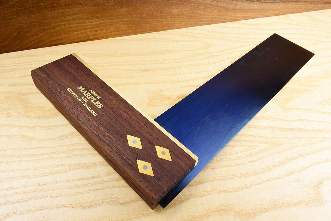 Marples Trial 1 Rosewood boxed set - Try Square