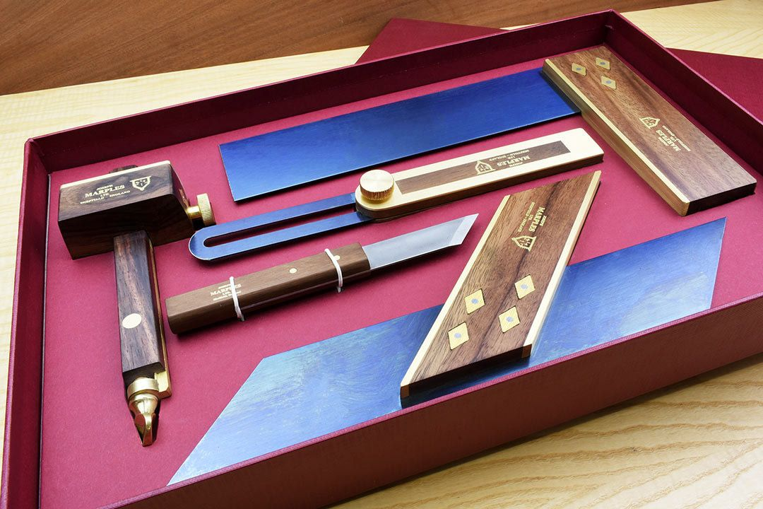 Marples Trial 1 Rosewood boxed set - open