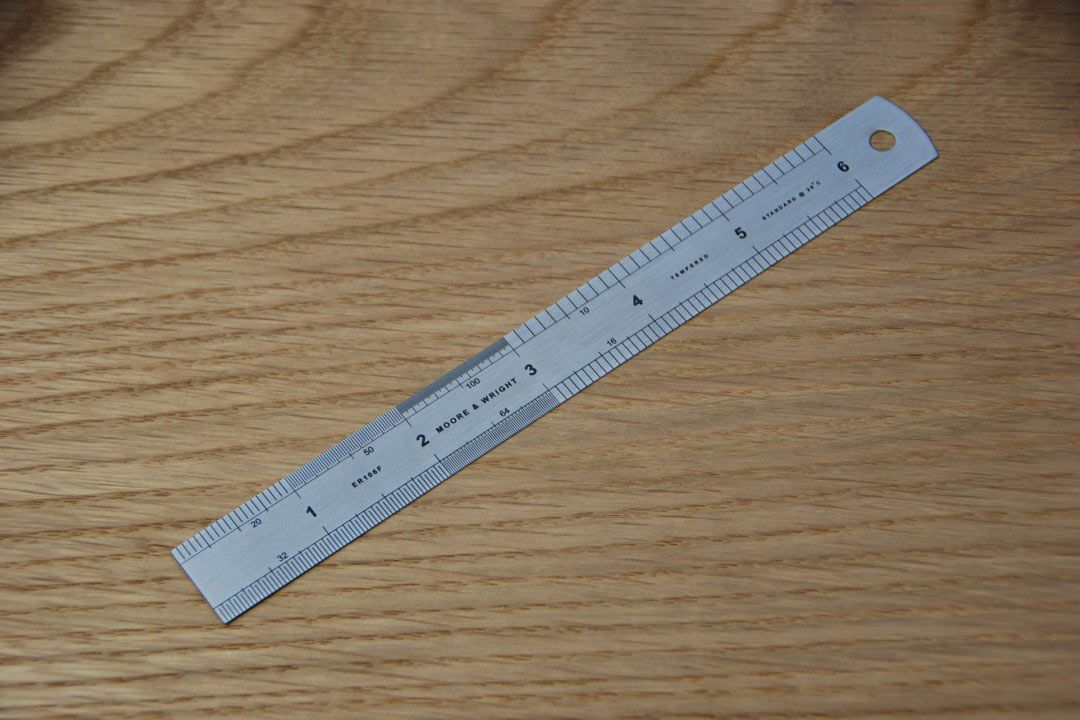 Moore & Wright 150mm Rule