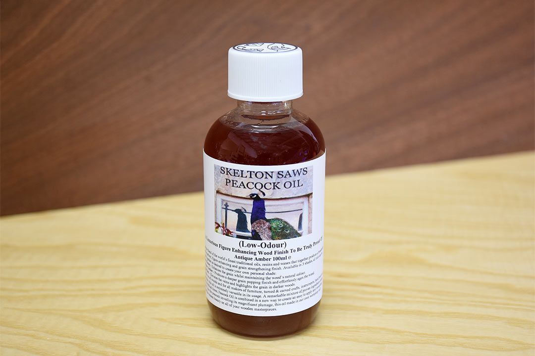 Peacock Oil - Antique Amber 100ml low odour