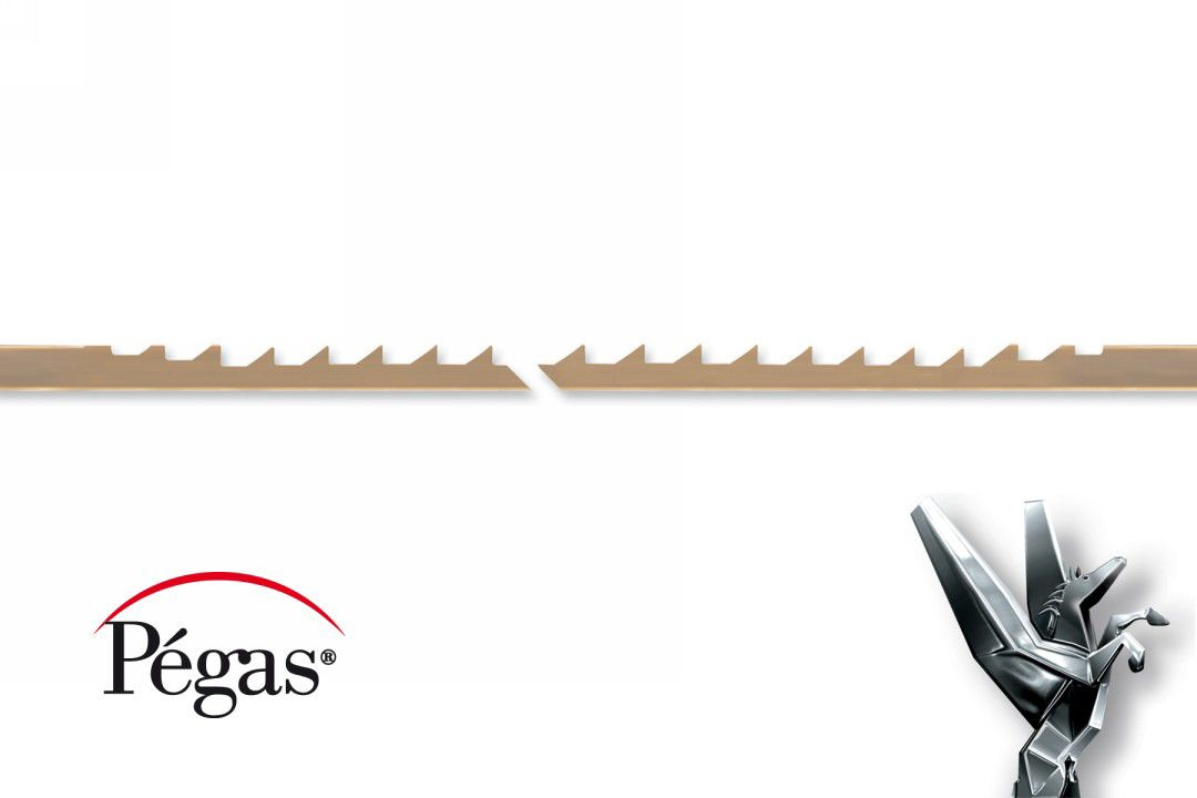 Pegas Skip Tooth Scroll Saw Blades for Wood