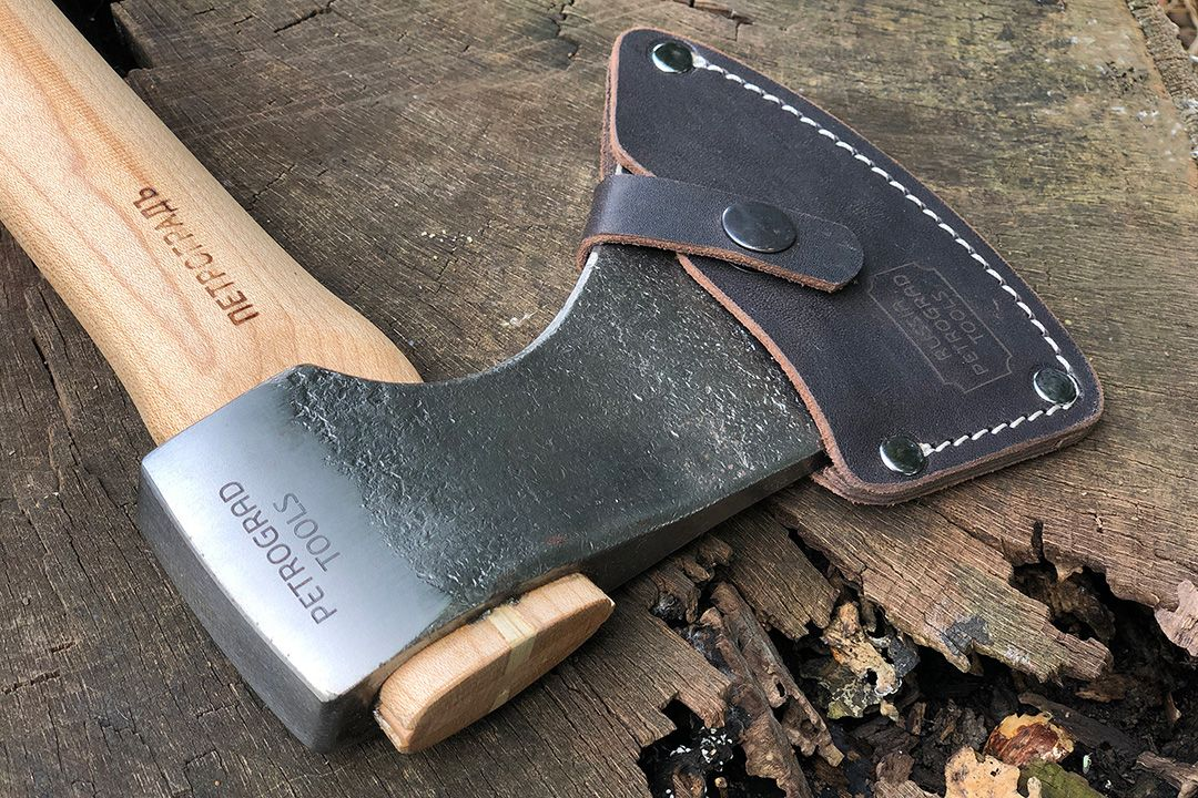 Petrograd Forest Axe - Chernigov X with leather cover