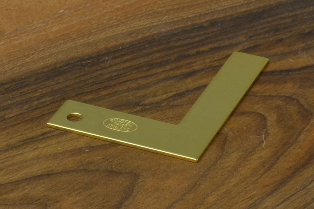 Richard Kell Solid Brass Plate Square