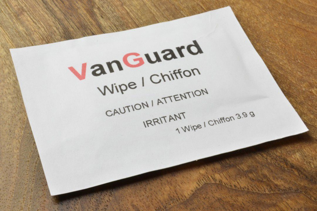 Shield Technology Vanguard Wipes Pack of 5