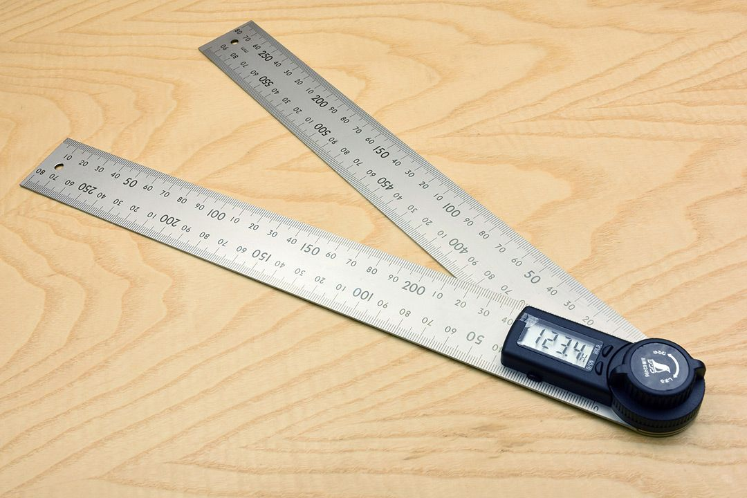 Shinwa Digital Protractor with Hold Function 300mm