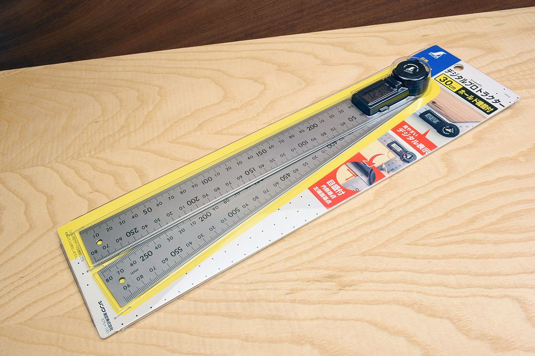 Shinwa Digital Protractor with Hold Function 300mm packaging