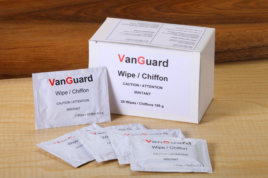 Shield Technology VanGuard Wipes Pack of 25