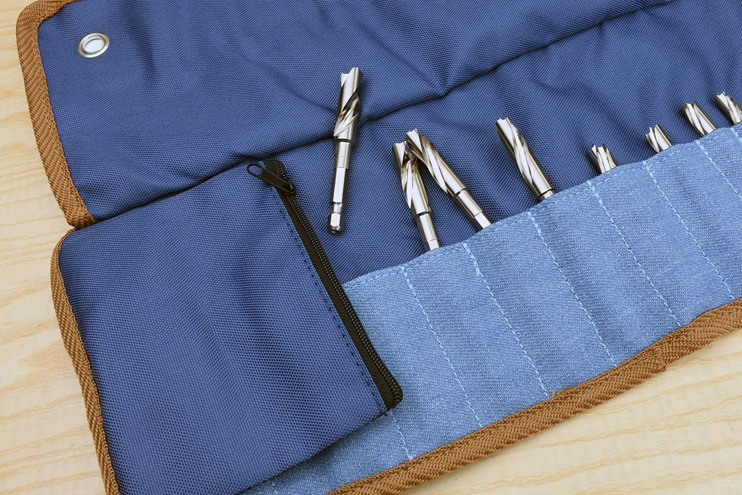 Star-M Japanese 601 Precision Drills in tool roll