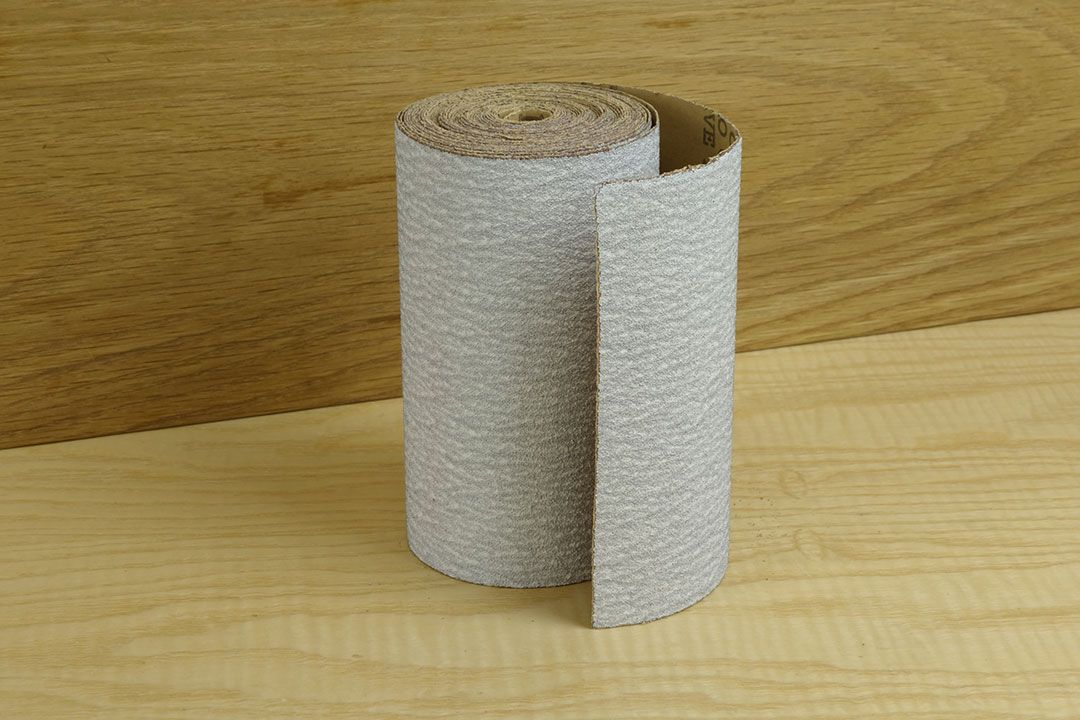 Stearated Non-Loading Abrasive Roll 5m x 115mm 120 grit