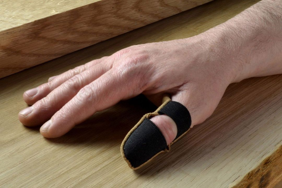 Suede Thumb Guard - Large