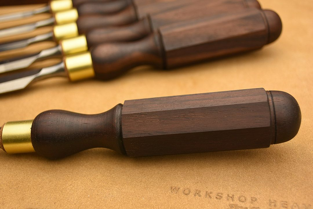 Rosewood Cabinetmakers Chisel handle