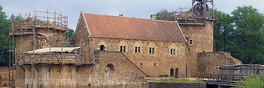 Guédelon - Welcome to the thirteenth century.